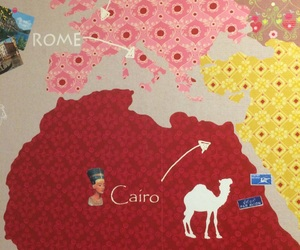 cairo, camel, and rome image