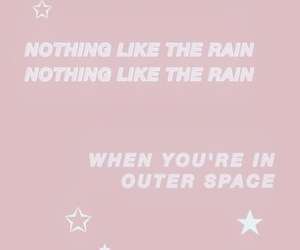 aesthetic, Lyrics, and outer space image