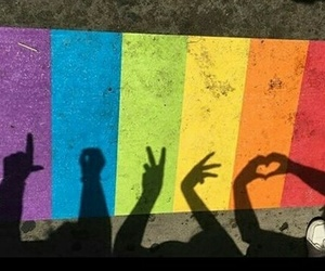 pride, love, and gay image