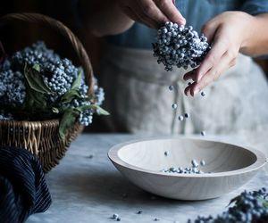 basket, syrup, and elderberry image
