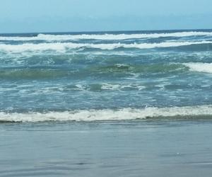 huntington beach, ocean, and beautiful sight image