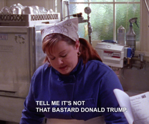 gilmore girls and donald trump image