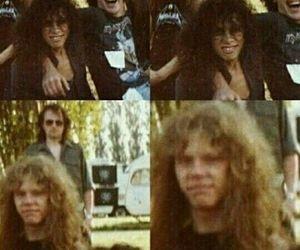 James Hetfield, metal, and metallica image