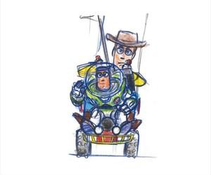 draw, buzz lightyear, and movie image