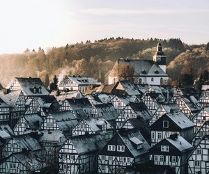 Houses, germany, and travel image