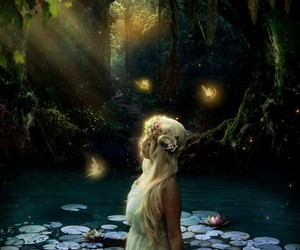 fantasy, fairytale, and nymph image