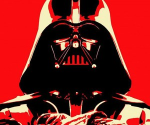 red, star wars, and daedweider image