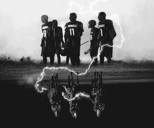teen wolf, stiles, and ghost riders image