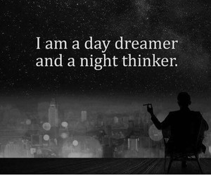 dreams, night, and life image