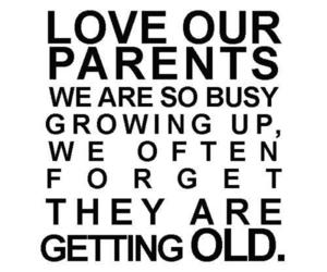 parents, quote, and love image