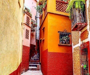 alley, city, and guanajuato image