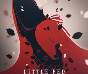 disney, little red riding hood, and red image