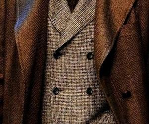 dapper, tweed blazer, and tweed vest image