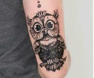 tattoo and owl image