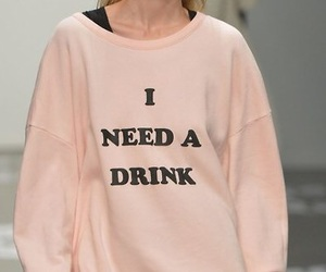 drink, pink, and grunge image
