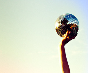 photography, disco, and disco ball image