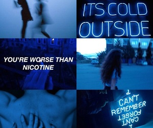 aesthetic, aesthetics, and blue image