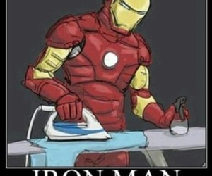 funny, lol, and iron image