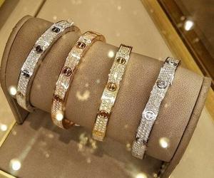 cartier, luxury, and diamond image