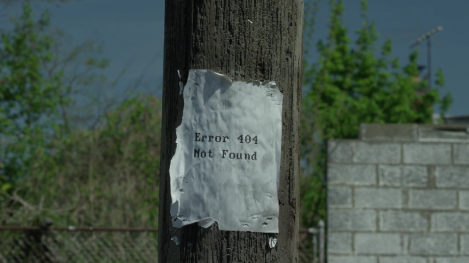 mr robot and error 404 image