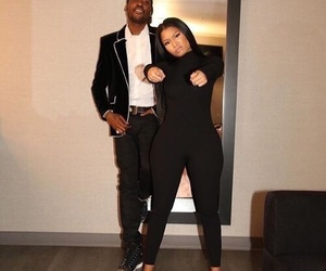 nicki minaj, meek mill, and couple image