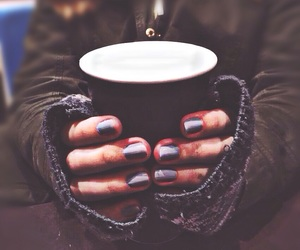 coffee, winter, and cold image