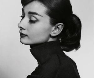audrey hepburn, vintage, and black and white image