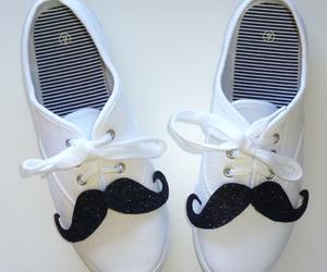 shoes, moustache, and mustache image