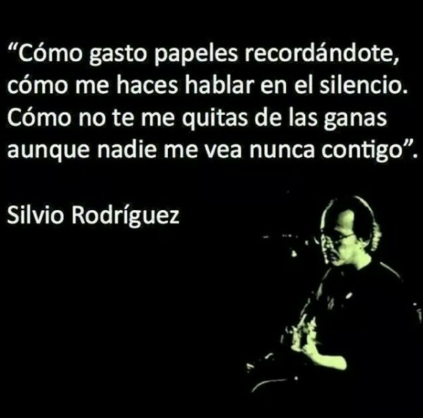 Te Doy Una Canción Silvio Rodríguez On We Heart It