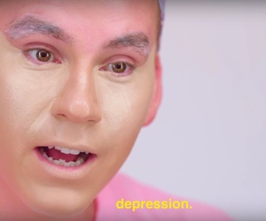 reaction, depression, and funny image