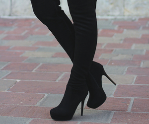 aesthetic, boots, and elegant image