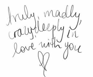 love, one direction, and Lyrics image