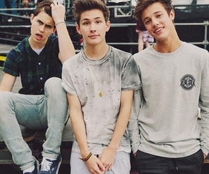 cameron dallas, nash grier, and carter reynolds image