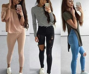 clothes, beauty, and fashion image