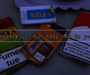 alternative, cigarettes, and quotes image