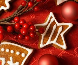 beautiful, natal, and biscoitos image