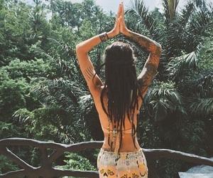 girl, boho, and hippie image