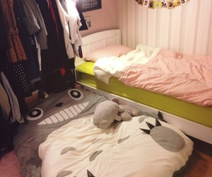 room, totoro, and bed image