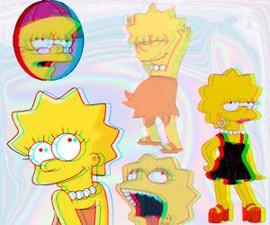 crazy, lisa, and lisa simpson image