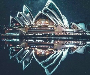australia, city, and night image