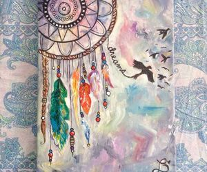 diary, dreamcatcher, and atrapasueÑos image