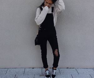 girl, accessories, and bag image