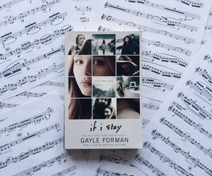 book, if i stay, and gayle forman image
