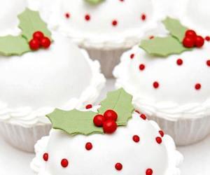 cupcake and christmas image