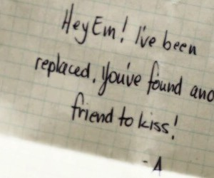 header, message, and pretty little liars image