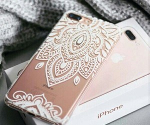 iphone, case, and rose gold image