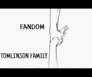 fandom, tomlinson, and one direction image