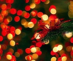 light, christmas, and red image