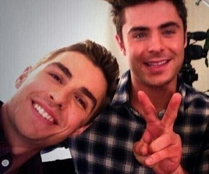 zac efron, dave franco, and Hot image