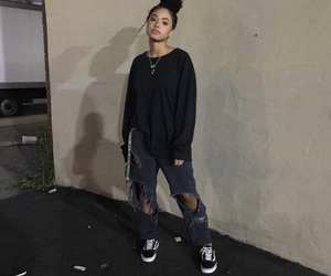 girl, outfit, and grunge image